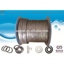 Embalaje flexible de grafito trenzado fabricado en China