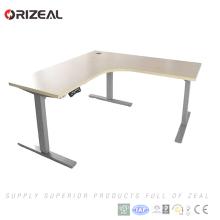 Los precios cortados en la mitad de la oficina se sientan la tabla ajustable de la altura eléctrica del escritorio de la elevación del soporte con la memoria