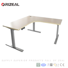 Prices cut in half office sit stand lift desk electric height adjustable table with memory