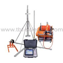 Sistema de detecção JJC-1EG para a detecção concreta da pilha do concreto do furo do inclinômetro da pilha do concreto da perfuração