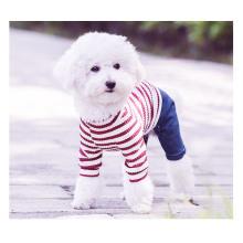 Домашнее Животное Собака Одежда В Полоску Платье Одежда