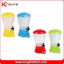 2.3 Gallonen Wasser Plastik Wasser Krug Großhandel BPA frei mit Zapfen (KL-8016)