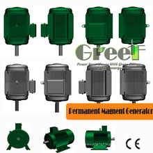 500kw Permanent Magnet Generator in Low Speed
