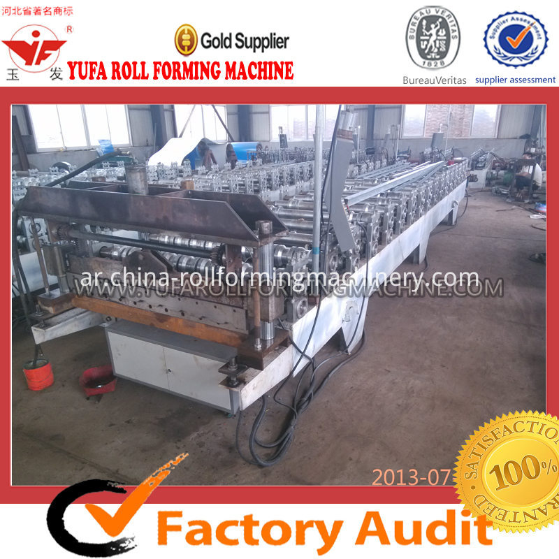 C18 METAL SHEET COLOR STEEL ROLL FORMING MACHINE
