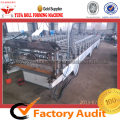 Hot Sale Prefab House Bahan Logam Roofing Forming Machine