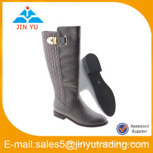 gold buckle nice quality boot winter woman