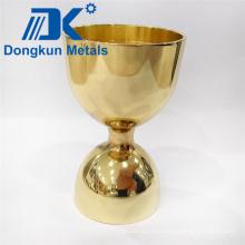 Copa dorada de vinilo de precisión