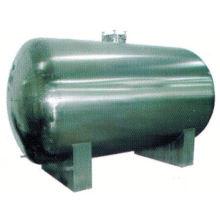Tanque de acero inoxidable de la comida 2017, tanque de agua horizontal SUS304 1000 galones, fermentador de tanque agitado continuo de GMP