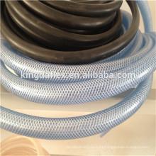 Manguera flexible reforzada de nylon resistente a la corrosión del PVC de la manguera / del aceite / manguera clara del aceite