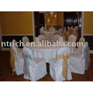 100%polyester Chair Cover, Hotel/Banquet Chair Cover