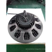 Luz alta 110-477VAC da baía do diodo emissor de luz do alumínio novo 100W 150W 200W 140lm / W do UFO do projeto