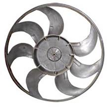 Moule adaptée aux besoins du client par conception attrayante faisant le moule automatique de fan de revêtement de cylindre