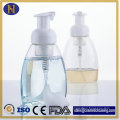 Botellas de 250ml, 300ml botella de la bomba de espuma plástica, lavado a mano