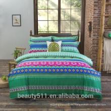 Jiangnan impresión de cuatro conjuntos de algodón vientos nacionales y ropa de cama textil al por mayor 4pcs sábanas BS28