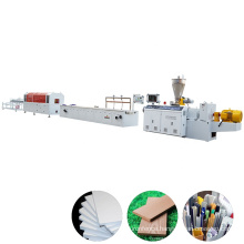 PVC and WPC Profile Extrusion Line PVC window and door frame production line