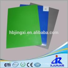 Tapis en caoutchouc vert brillant ou mat