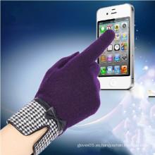 2014 Guantes de lana inteligentes de pantalla táctil completa 360 de venta caliente