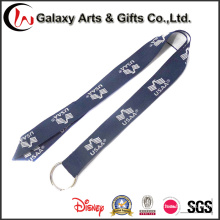 Polyester Material Custom Printed Embroidered Woven Lanyard