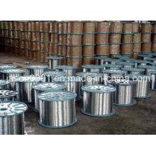 Fil en acier, fil en acier inoxydable, fil basique brillant à faible teneur en carbone
