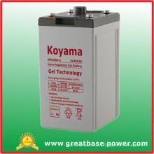 400ah 2V Gel Battery Hybrid Battery for Telecommunication Equipment