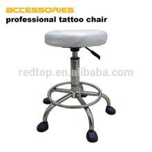 Chaise de tatouage de révolution de tabouret de selle de tatouage en cuir professionnel