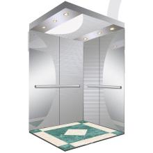 Aksen espelho gravado elevador de passageiros de quarto de máquina J0355