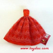 Красный DIY Bear Одежда Одежда