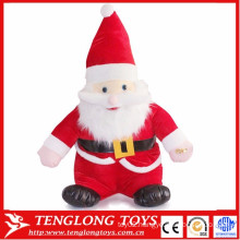 high quantity cute Santa Claus plush toys Father Christmas toys