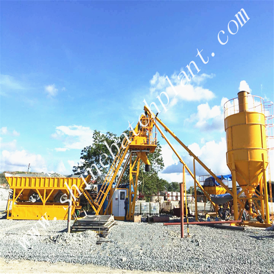 No Foundation Concrete Batching Plant 01