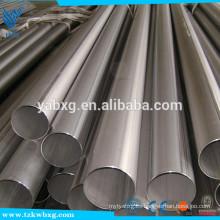 ASTM A213 2B y tubo redondo de acero inoxidable AISI316L recocido
