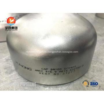 Superduplex-Stahlkolben-Schweißfitting ASTM A815 S32760, A403, BW B16.9