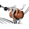 Sac de vélo rétro Panier Tour de ville Sac de vélo de montagne Sac vintage Sac de vélo VTT vélo arrière