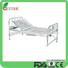1-кривошипная ручная медицинская кровать из нержавеющей стали