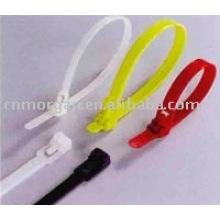 Bewegliche Nylon Kabelbinder