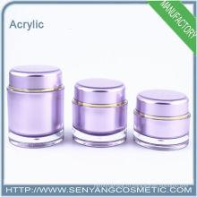 Роскошные косметические упаковочные банки оптом косметические акриловые упаковки акриловые крема банку