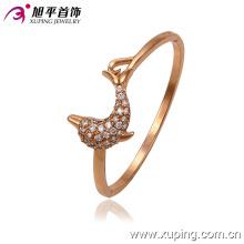 Moda jóias rosa cor pulseira elegante com um peixe