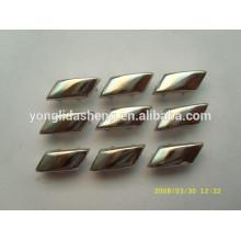 Personalizar diferentes tipos de cuentas de metal de plata garra
