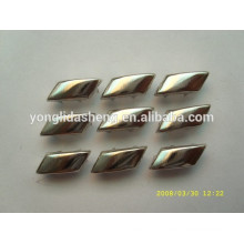Personnaliser différents types de perles en métal argenté
