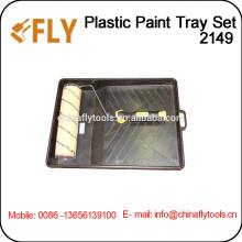 painting roller brush plastic Tray Kit