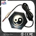 Classical Chinese style 360 round Ying-Yang tattoo foot pedal with long wire plug