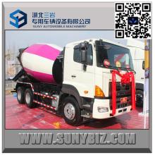 12 M3 Camion mélangeur de béton 700p Camion mélangeur Hino