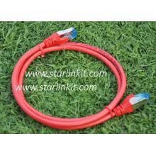 Cat5e Shielded STP Bare Copper Patch Cord 1m