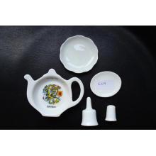 Artículo de recuerdo de porcelana fina