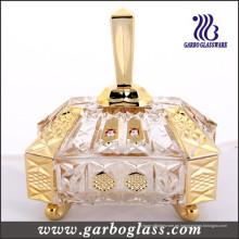 Tarro de vidrio dorado (GB1802R / DT)