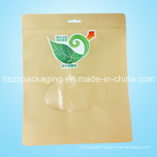 Wholesale Ziplock with Window Tea Bag