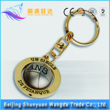 China Factory Wholesale Custom Metal Letter Keychains
