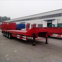Semi remorque surbaissée 4 essieux 40 tonnes
