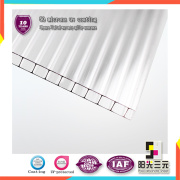 High Impact-Resistance Polycarbonate Sheet for Carports