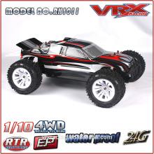 VRX racing 1/10 4WD RC caminhão de brinquedo, brinquedos de comprar da China, escala 1/10 4WD RC carro elétrico