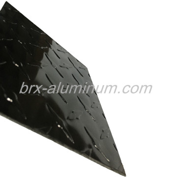 Black Anodized Figured Aluminum Sheet